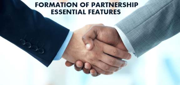 Essential features for formation of partnership