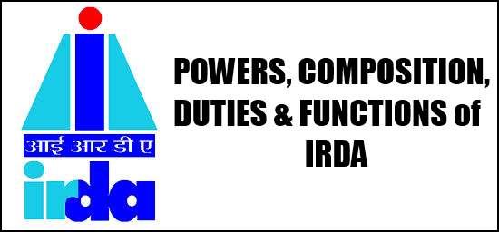 IRDA Powers Composition Duties and Functions