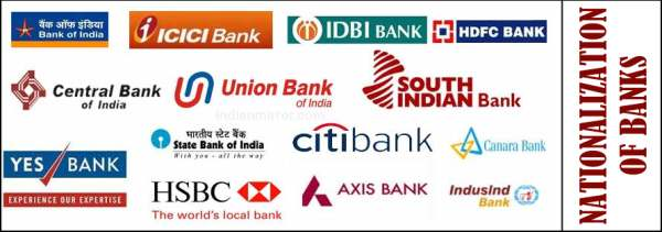 Nationalization of Banks