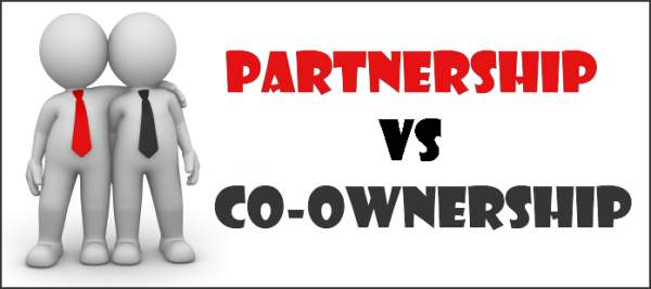 Partnership vs Co-ownership