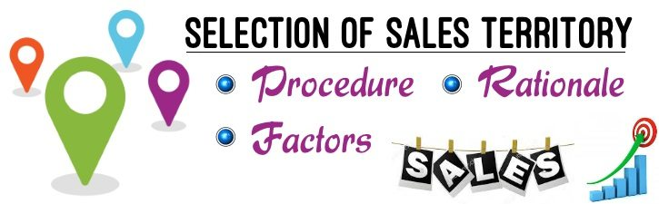 Selection of Sales Territory
