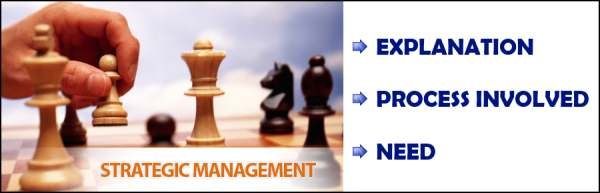 Strategic Management - Explanation, Process, Need