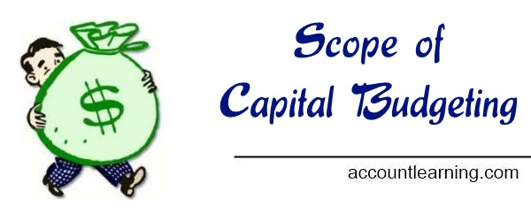 Capital Budget - Scope of Capital Budgeting