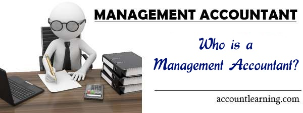 Who is a management accountant