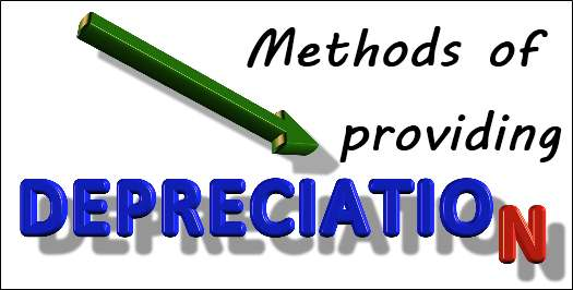 Methods of providing depreciation