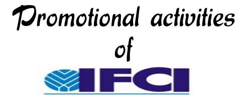 Promotional Activities of IFCI