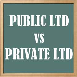 Public ltd vs Private ltd