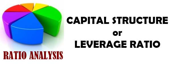 Ratio Analysis - Capital Structure or Leverage Ratio