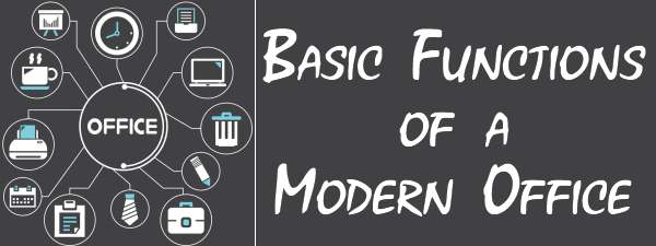 Basic functions of Modern Office