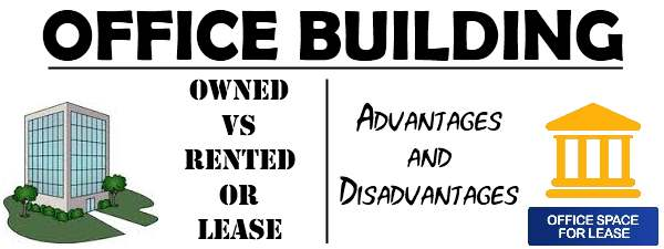 Advantages and Disadvantages of Owned and Rented Buildings for office