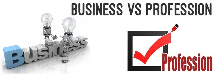 Business vs Profession