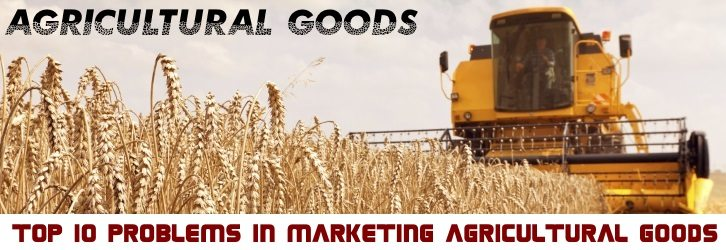 Top 10 Problems in marketing agricultural goods