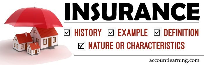Insurance - History, Example, Definition, Nature or Characteristics