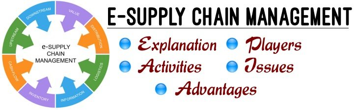 E-Supply Chain Management - Explanation, Activities, Players, Issues, Advantages