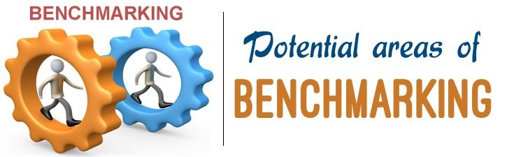 Potential areas of benchmarking