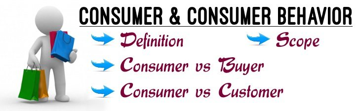 Consumer & Consumer Behaviour