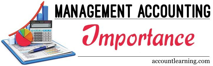 Importance of Management Accounting