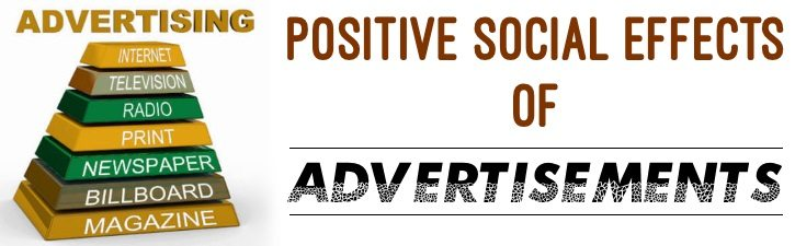 Positive Social Effects of Advertisements