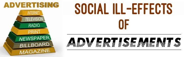Social ill effects of Advertisements