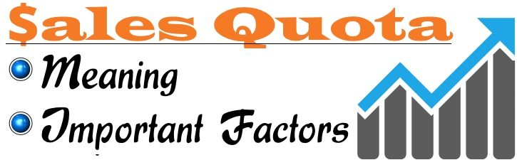 Sales Quota - Meaning, Important Factors