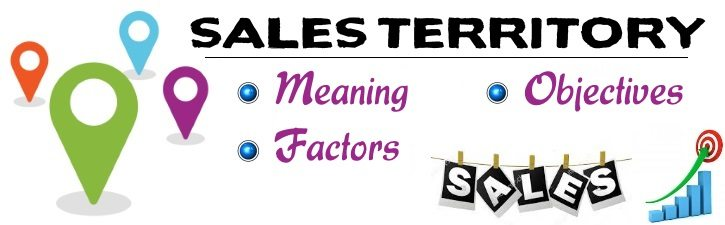 Sales Territory - Meaning, Objectives, Determining factors
