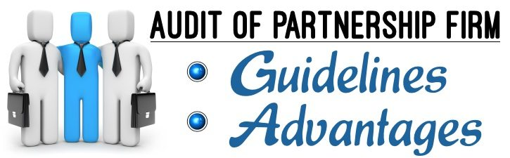 Audit of Partnership firms