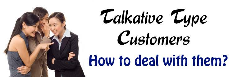Talkative Type Consumers