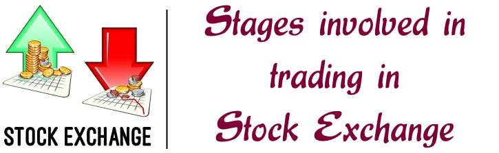 Stages involved in trading in stock exchange