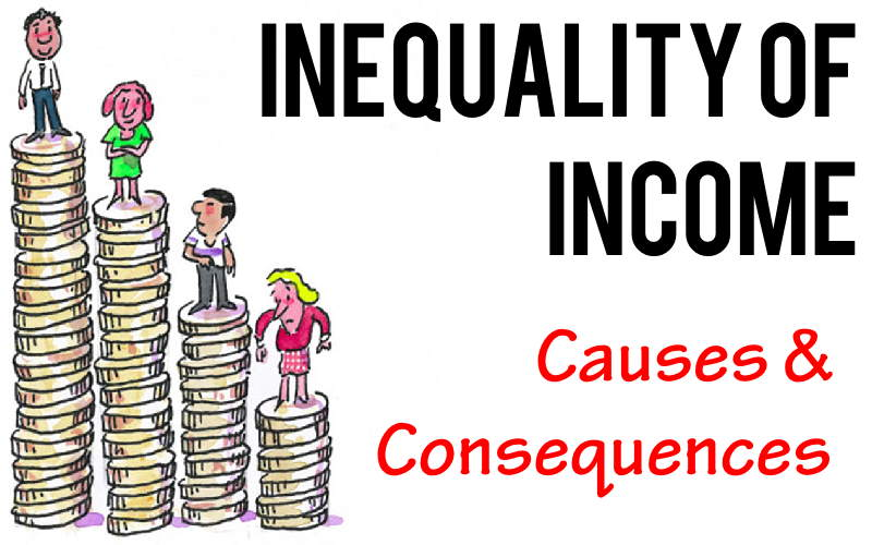 Inequality of Income - Causes, Evils or Consequences