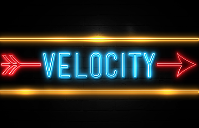 Velocity Arrow with graphic for What is Digital PR Blogpost