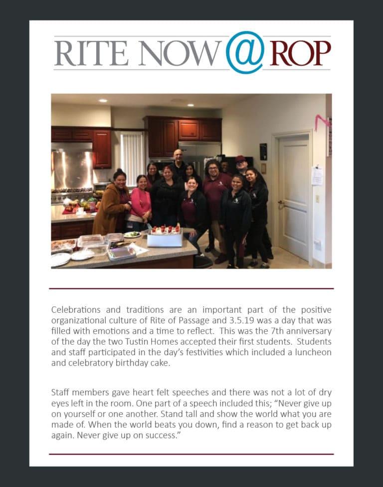 Rite Now - Tustin 7th anniversary Mar 2019