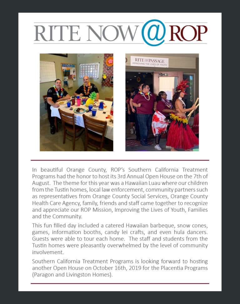 Rite Now - Tustin BBQ Aug 2019