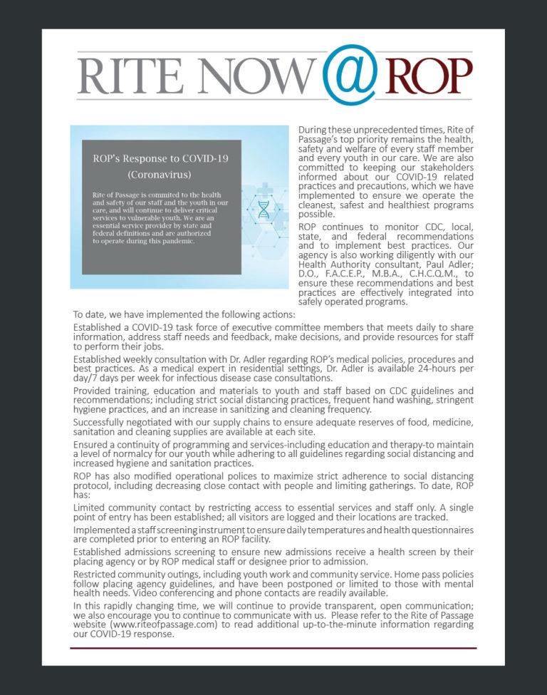Rite Now - Tustin COVID March 2020