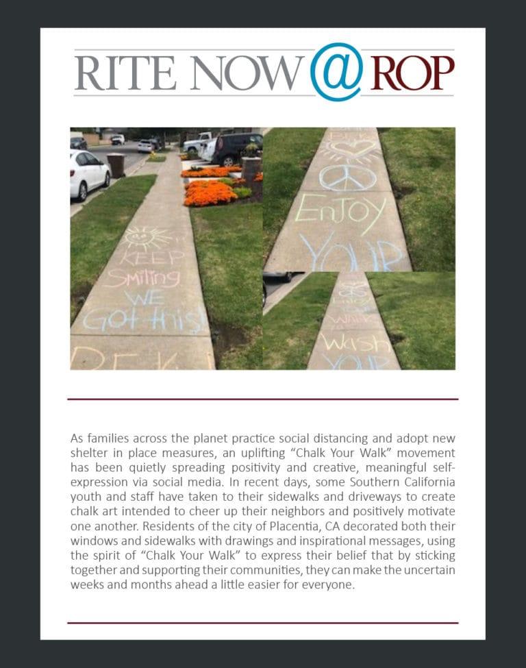 Rite Now - Tustin from Dana Centanni March 2020