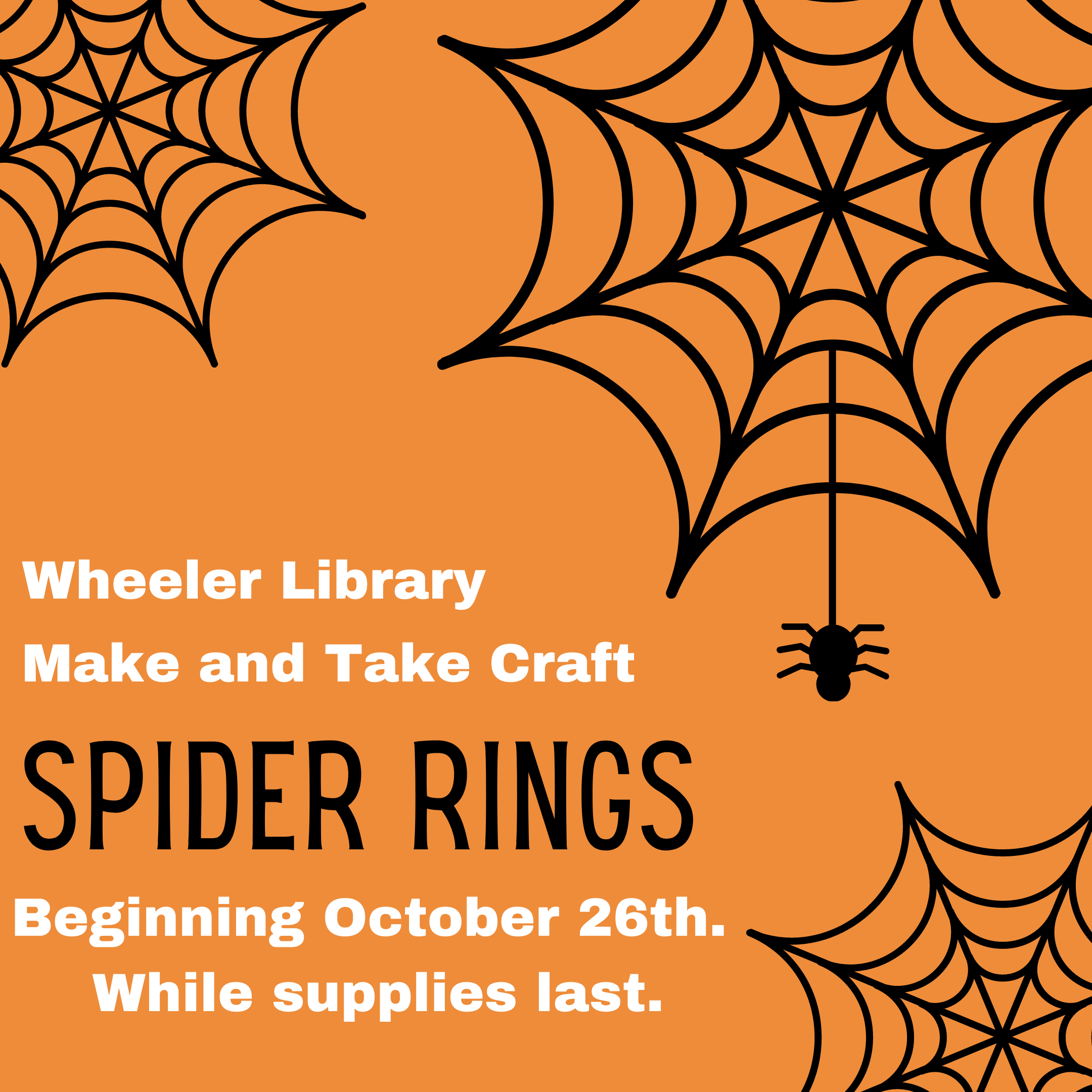 Spider rings