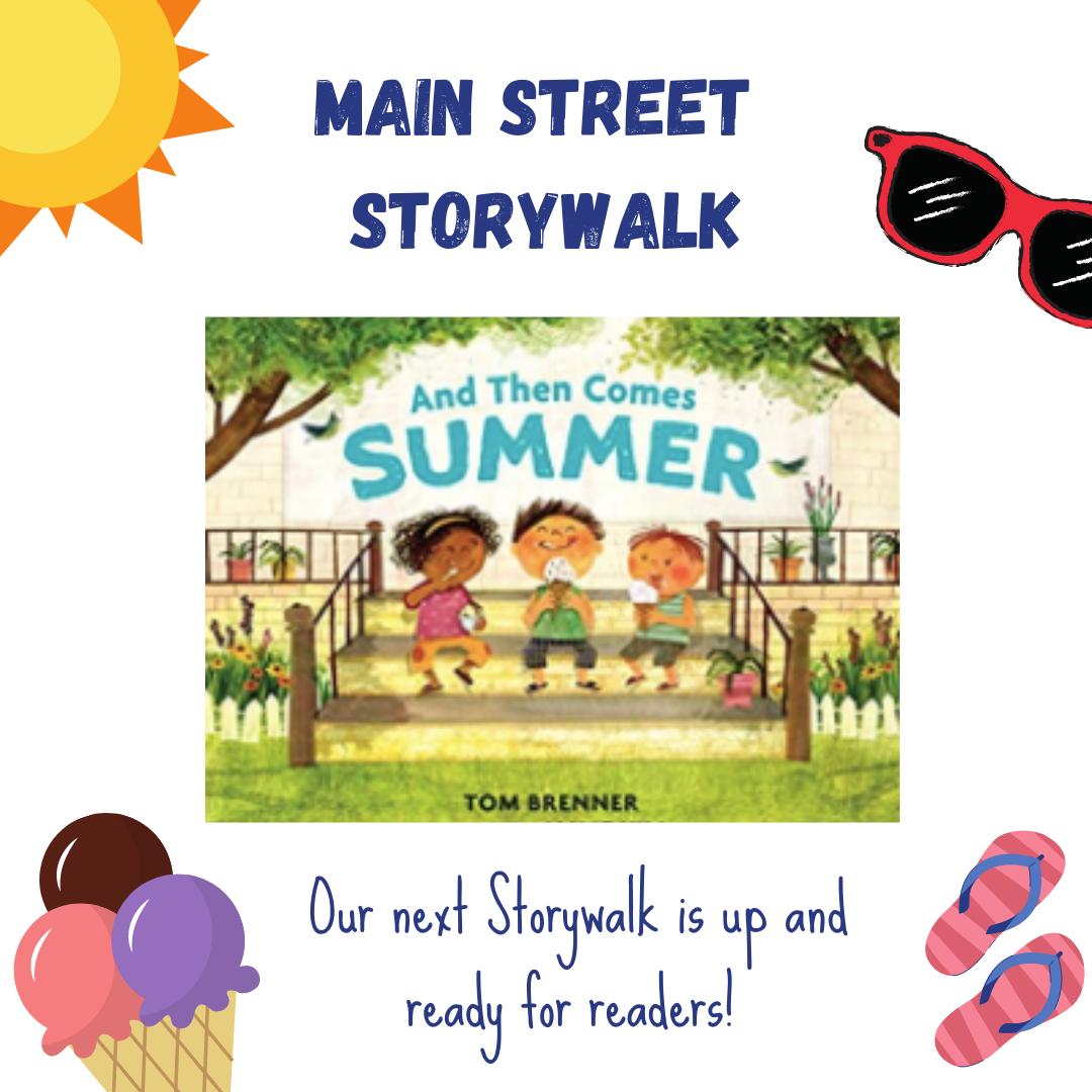 main street storywalk- summer