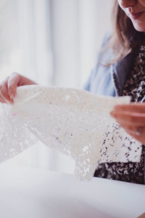 creation sur mesure de robe de mariée
