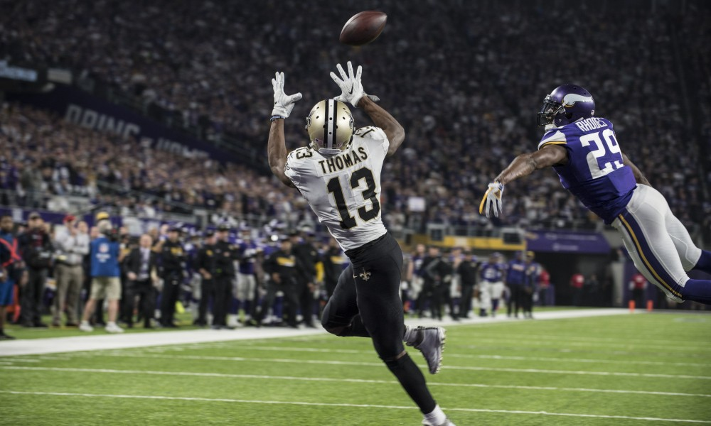 Michael Thomas Begins Holdout, Doesn't Report to Saints Camp