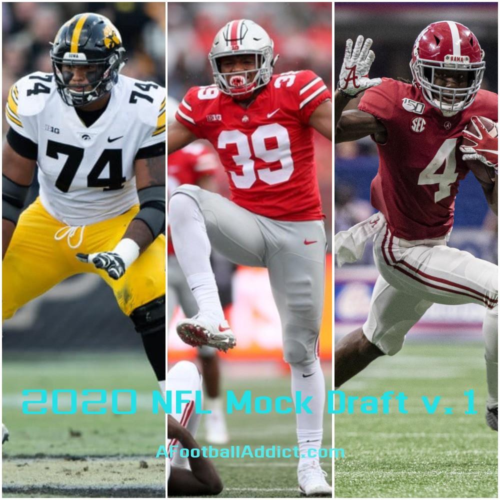 2020 NFL Mock Draft v.1