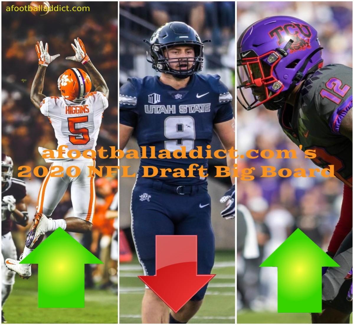 afootballaddict.com's 2020 NFL Draft Big Board