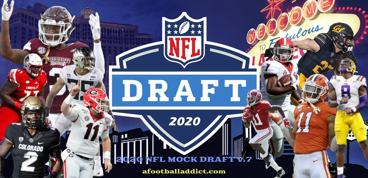 2020 NFL Mock Draft 7.0
