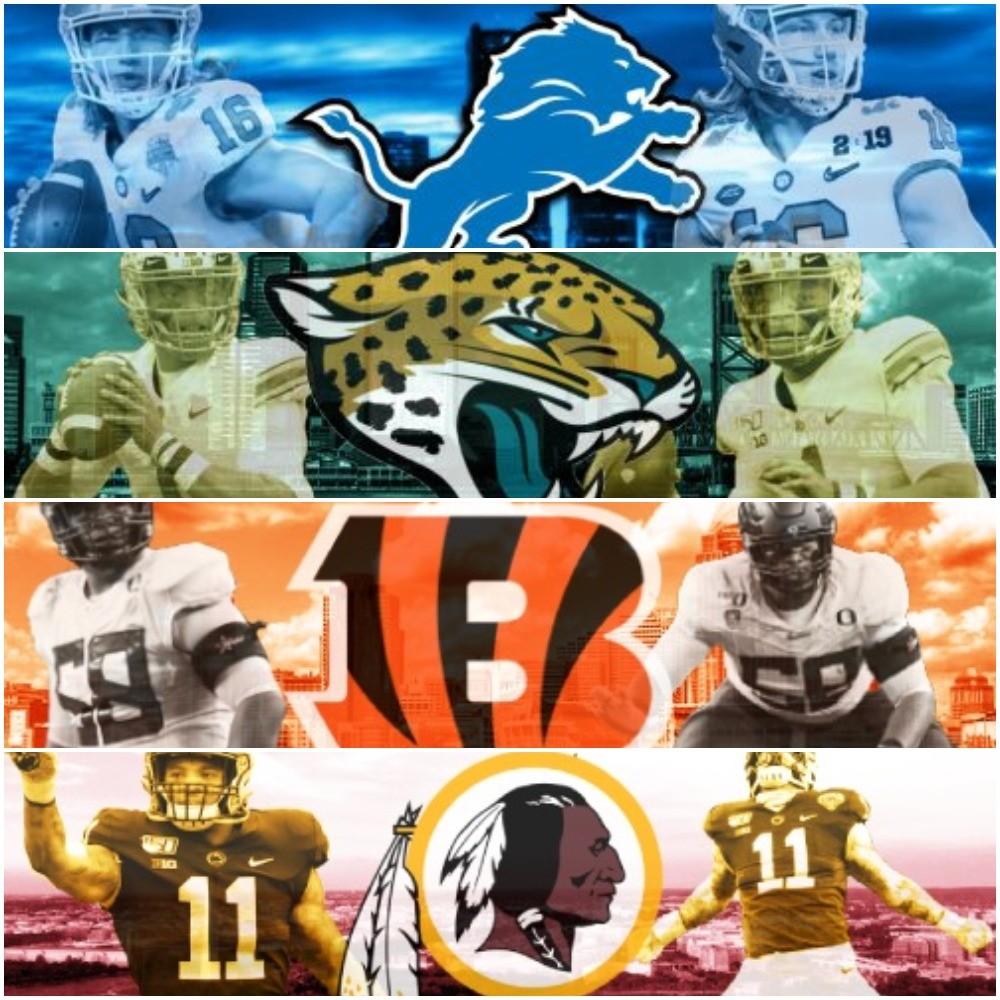 Way-Too-Early 2021 NFL Mock Draft