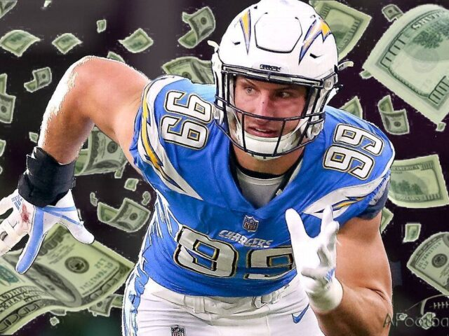 Joey Bosa Signs a 5-Year/$135M Extension With the Chargers