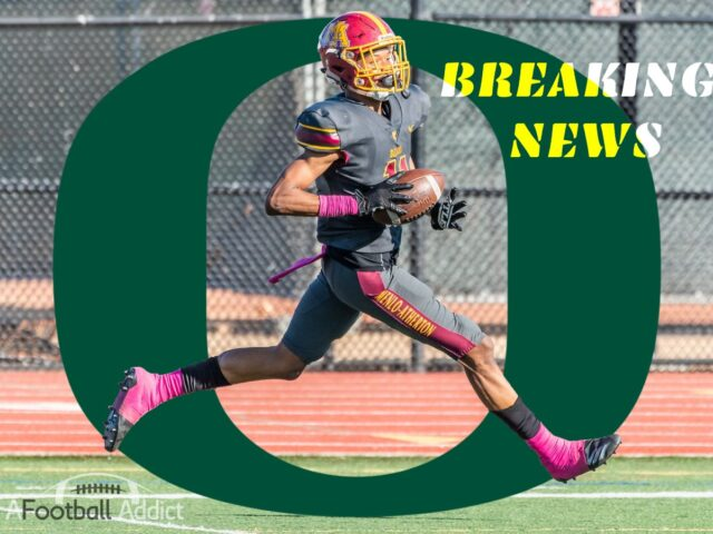 5-Star WR Troy Franklin Commits to the University of Oregon