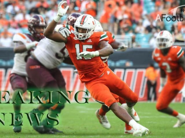 Miami's Gregory Rousseau Opts Out of the College Football Season