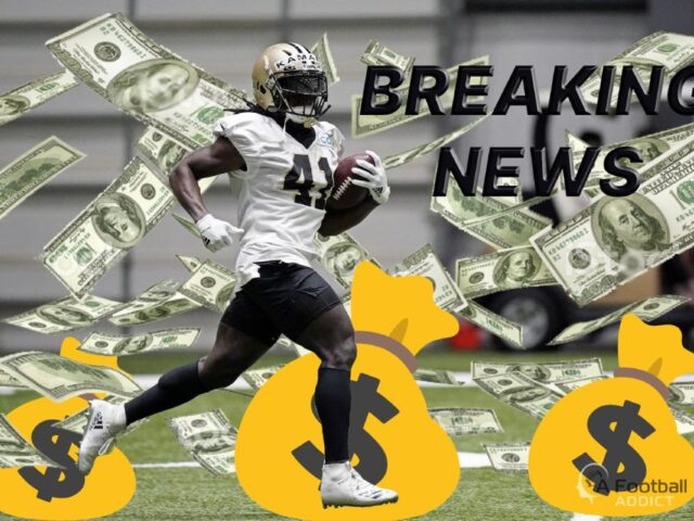 Alvin Kamara & the New Orleans Saints Agree to a 5yr-$75M Extension