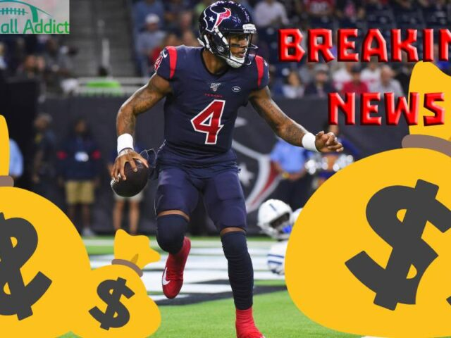 Deshaun Watson Signs a 4-Year-$156M Extension With The Houston Texans