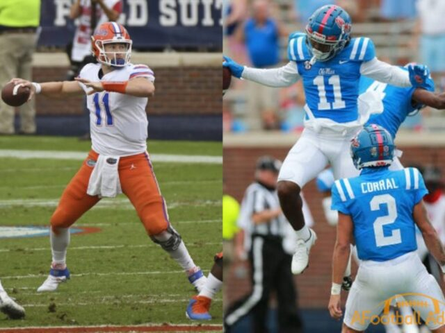 Florida Beats Ole Miss 51-35 Behind Kyle Trask's 6 TDs