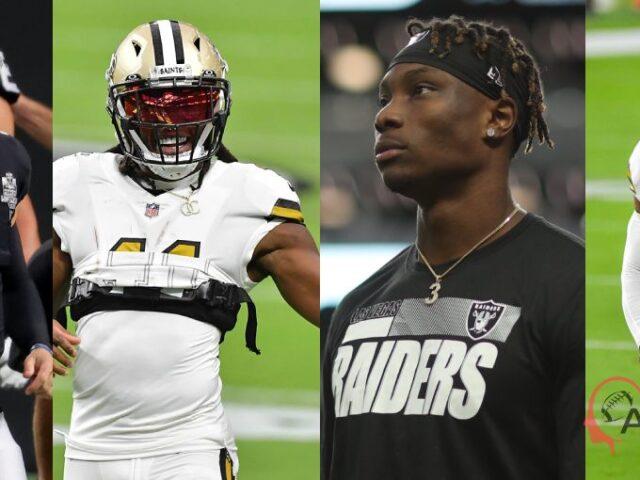 The Las Vegas Raiders Stun The New Orleans Saints  34-24