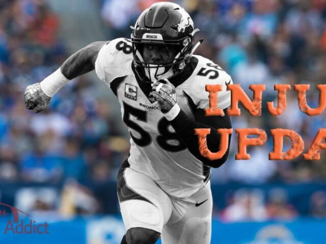 Von Miller Out for the Season After Suffering Ankle Tendon Injury